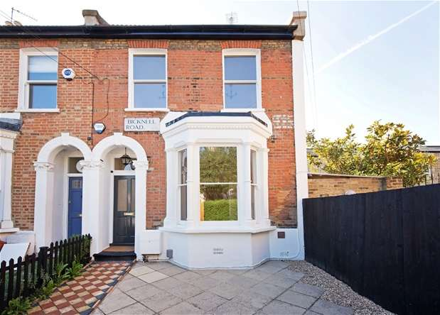 3 Bedrooms End Of Terrace House for sale in Bicknell Road, Herne Hill