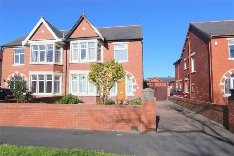 4 Bedrooms Semi Detached House for sale in Stony Hill Avenue, Blackpool