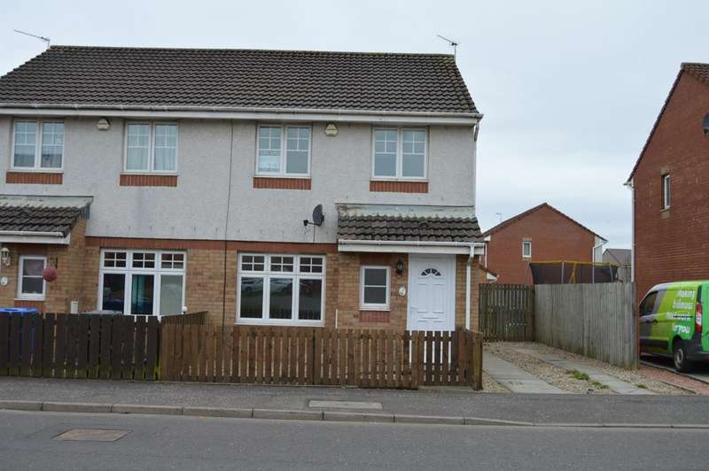 3 Bedrooms Semi Detached House for sale in The Vines , Irvine KA11
