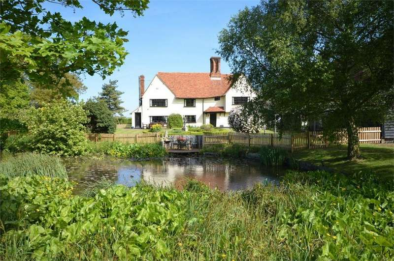 5 Bedrooms Detached House for sale in Brands Farmhouse, Ongar Road, Great Dunmow