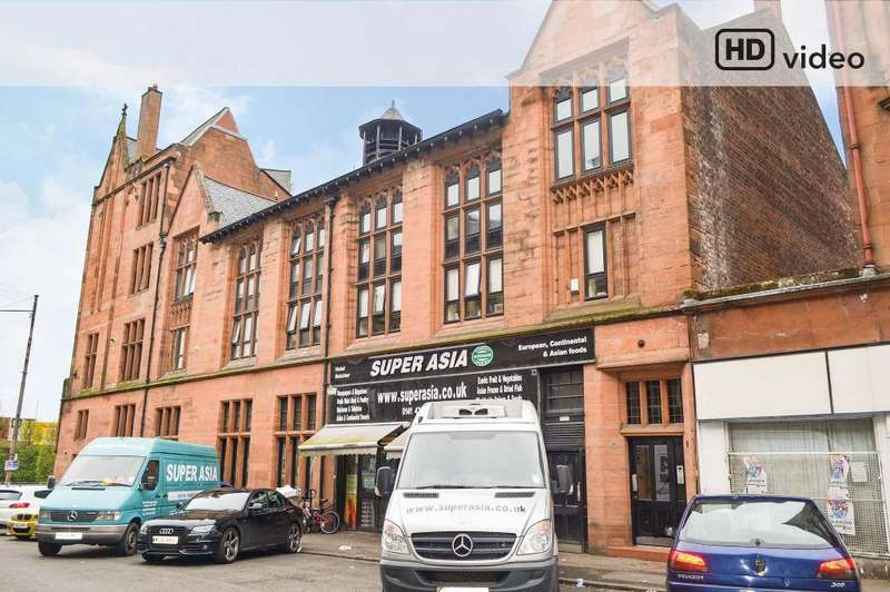 3 Bedrooms Flat for sale in Maxwell Road, Flat 2/1, Pollokshields, Glasgow, G41 1QP