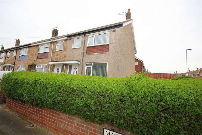 2 Bedrooms End Of Terrace House for sale in Macaulay Road, Hartlepool