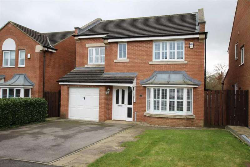 4 Bedrooms Detached House for sale in Aspen Grove, School Aycliffe, Newton Aycliffe