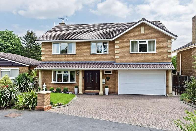 6 Bedrooms Detached House for sale in Sandal Rise, Solihull