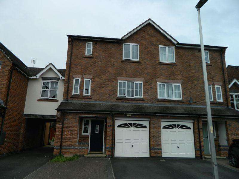 3 Bedrooms Terraced House for sale in Sunnymill Drive, Sandbach