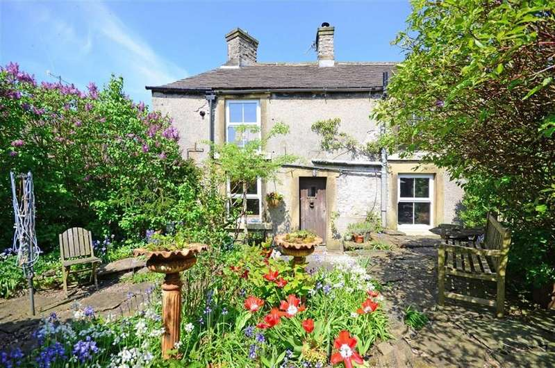 2 Bedrooms Detached House for sale in Hunters Green Cottage, The Hills, Bradwell, Hope Valley, Derbyshire, S33