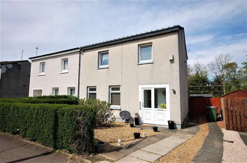 3 Bedrooms Semi Detached House for sale in Cairnhill Circus, Crookston G52 3NL