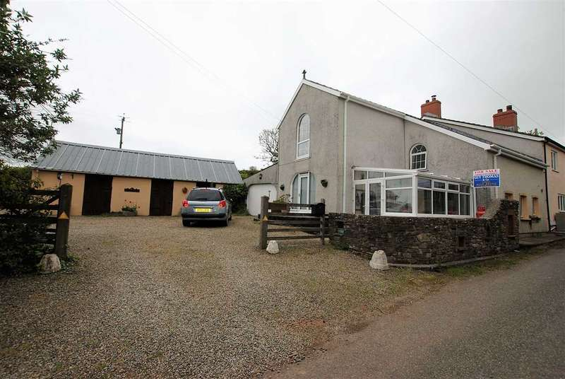 4 Bedrooms Semi Detached House for sale in The Brambles, Barn Lane,, Rosemarket