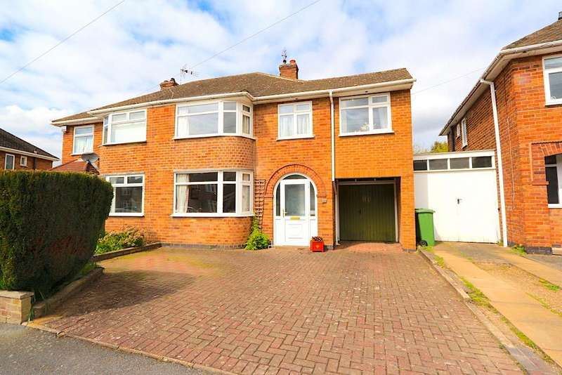 4 Bedrooms Detached House for sale in Stonehurst Road, Braunstone Town