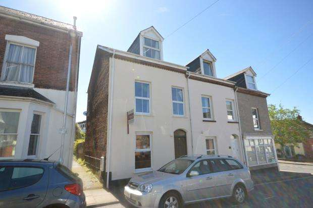 2 Bedrooms End Of Terrace House for sale in Clifton Road, Newtown, Exeter, Devon