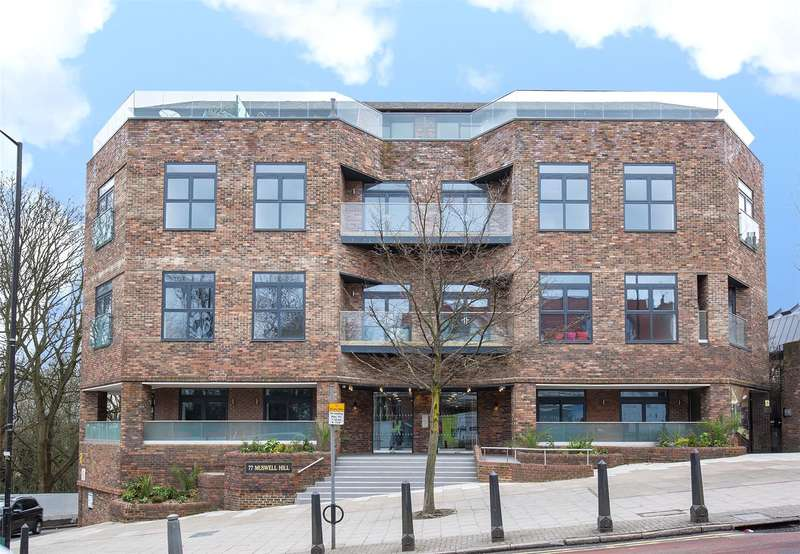 3 Bedrooms Apartment Flat for sale in Muswell Hill, London, N10