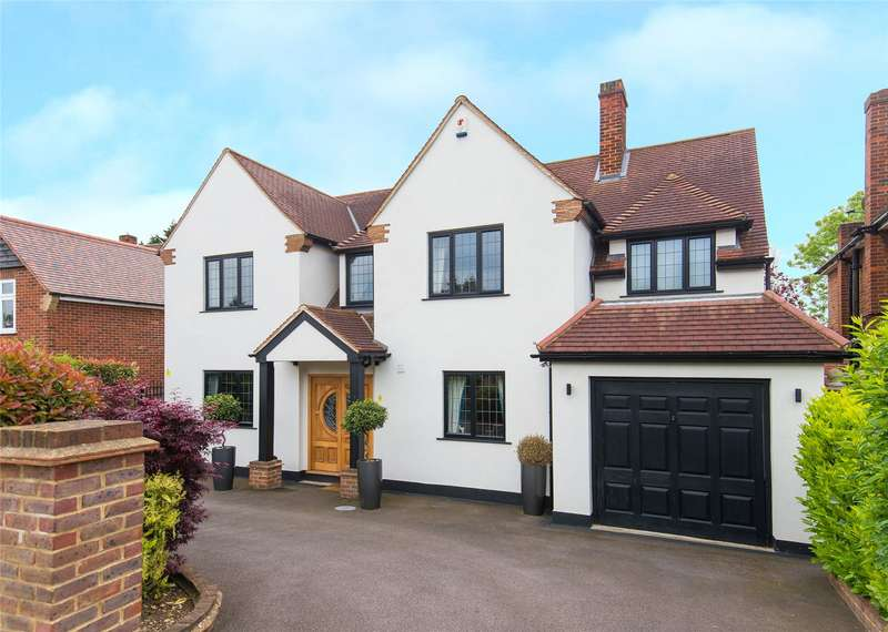 4 Bedrooms Detached House for sale in Chigwell Rise, Chigwell, Essex, IG7