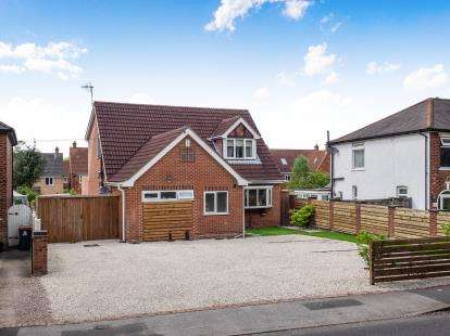 4 Bedrooms Detached House for sale in Moor Road, Bestwood Village, Nottingham, Nottinghamshire