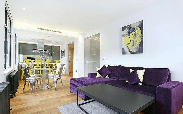 3 Bedrooms Apartment Flat for rent in Paramount House, 168 Wardour Street, Soho, London, W1F