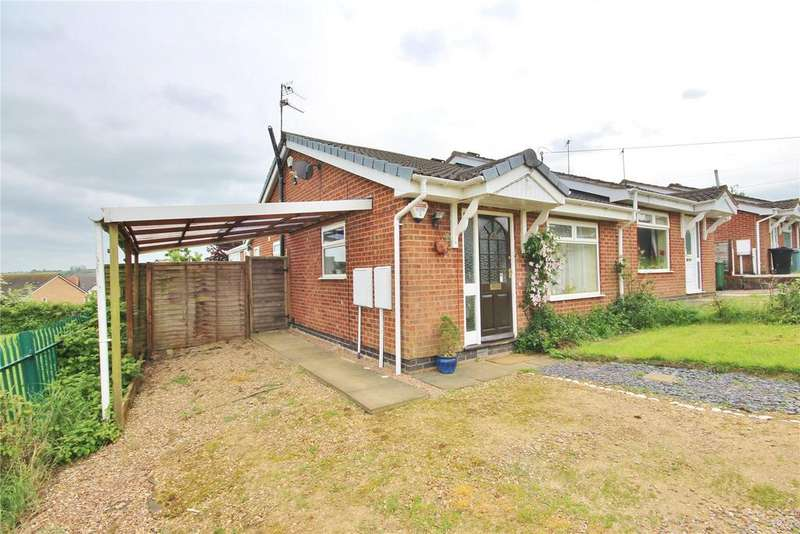 2 Bedrooms Semi Detached Bungalow for sale in Ely Way, Grantham, NG31