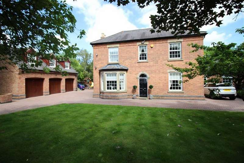 4 Bedrooms Detached House for sale in Main Road, Smalley, Derbyshire