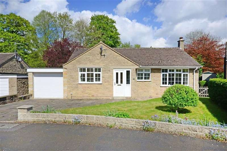 2 Bedrooms Bungalow for sale in 19, Wyedale Crescent, Bakewell, Derbyshire, DE45