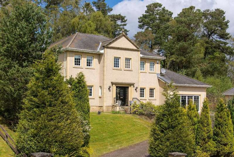 5 Bedrooms Detached House for sale in Carmaben Brae, Dolphinton, West Linton, Peeblesshire