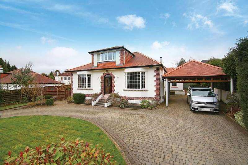 5 Bedrooms Detached Bungalow for sale in Kenmure Road, Whitecraigs, Glasgow, G46