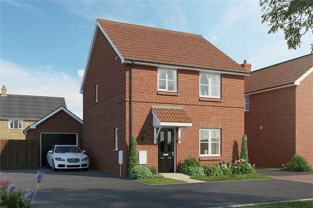 3 Bedrooms Detached House for sale in The Hopwood, Meadow Croft, Houghton Conquest
