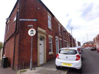 2 Bedrooms End Of Terrace House for sale in Kingswood Street, Preston, Lancashire, .