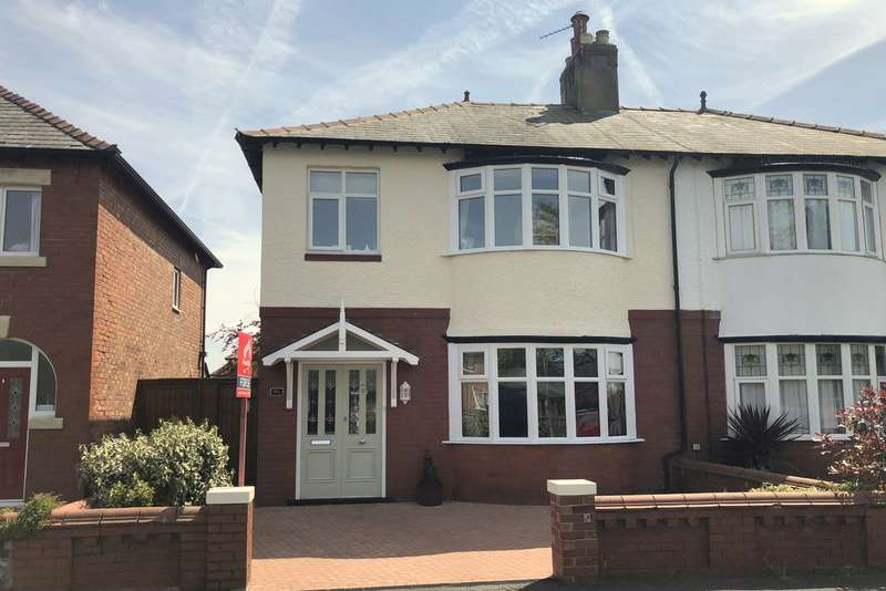 3 Bedrooms Semi Detached House for sale in Hove Road, Lytham St Annes, FY8