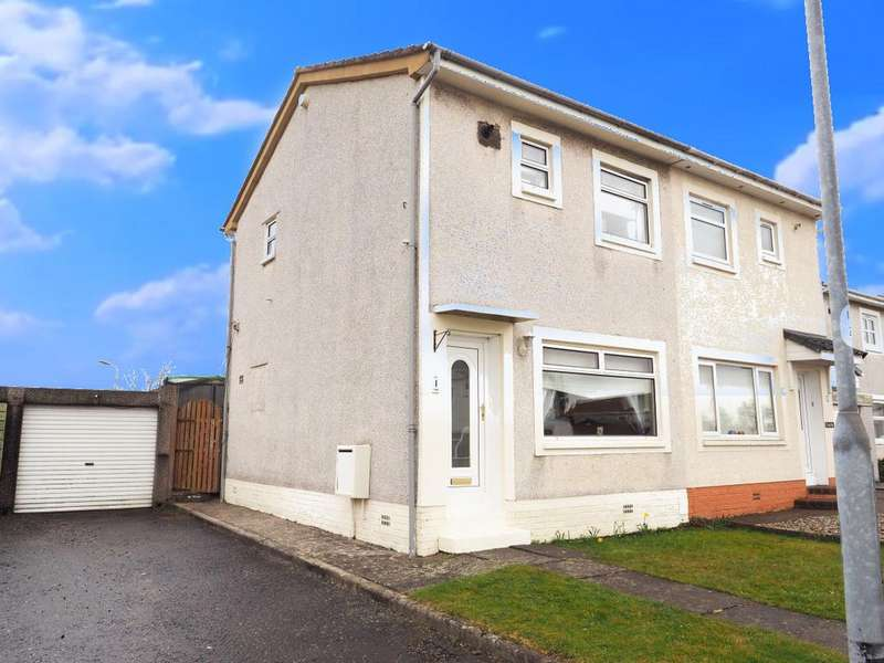 2 Bedrooms Semi Detached House for sale in Loudon Court, Kilwinning KA13