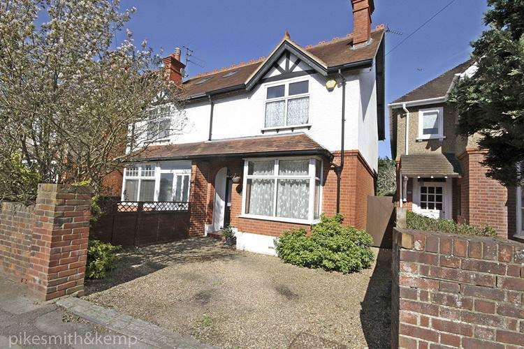 3 Bedrooms Semi Detached House for sale in Furze Platt Road, MAIDENHEAD, SL6
