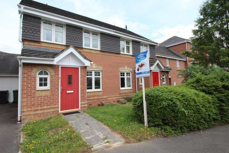 3 Bedrooms Semi Detached House for rent in Thyme Avenue, Whiteley