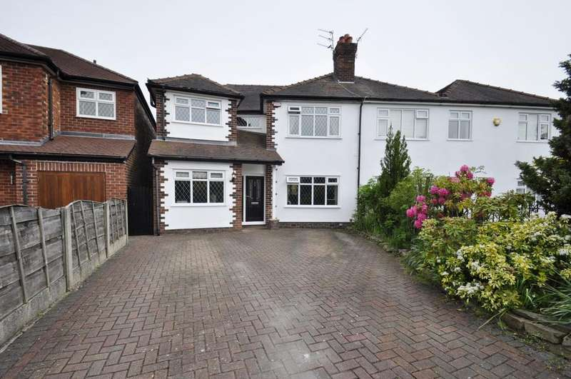 4 Bedrooms Semi Detached House for sale in Birchway, Bramhall,