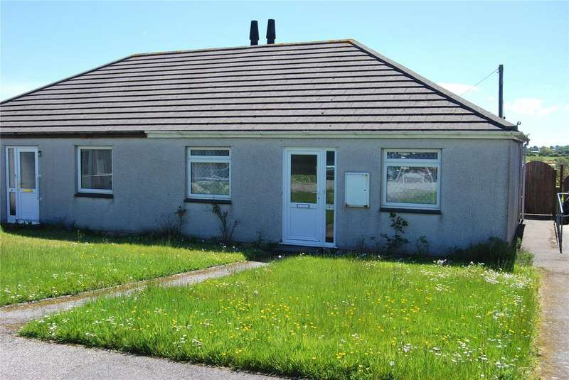 2 Bedrooms Semi Detached Bungalow for sale in Broad View, Trispen, Truro, Cornwall