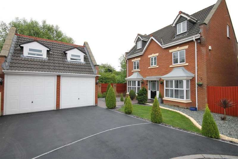 5 Bedrooms Detached House for sale in Washington Close, Widnes, Cheshire, WA8 9QJ