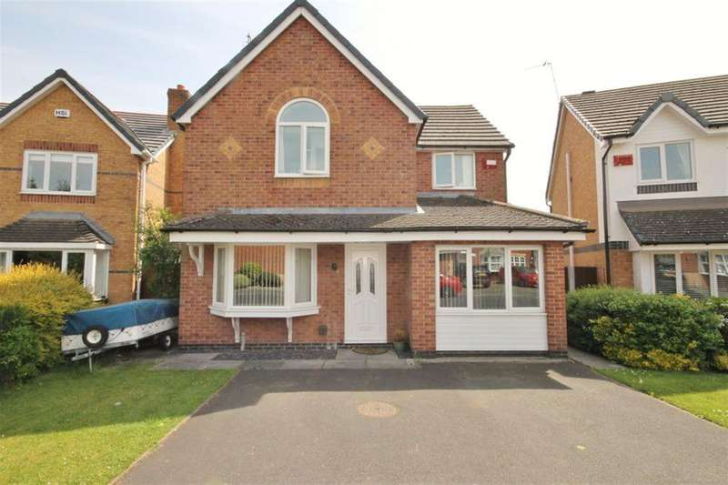 3 Bedrooms Detached House for sale in Foxley Heath, Widnes, Cheshire, WA8 7EB