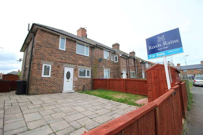 2 Bedrooms Semi Detached House for sale in West End Villas, Crook, DL15