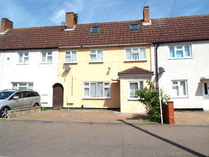 4 Bedrooms Terraced House for sale in Pearcey Road, Bedford, Bedfordshire
