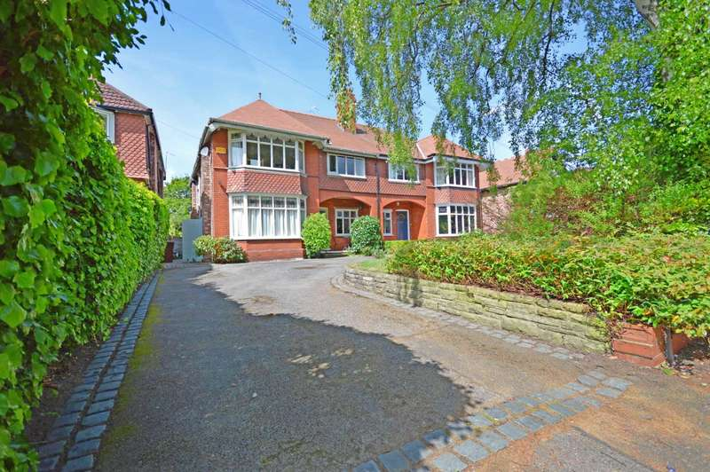 4 Bedrooms Semi Detached House for sale in Hill Top Avenue, Cheadle Hulme