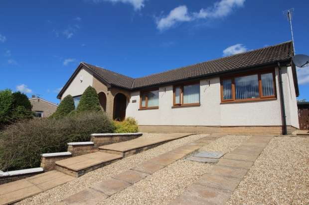 4 Bedrooms Bungalow for sale in Hoyle Crescent, Cumnock, Ayrshire, KA18 1RX