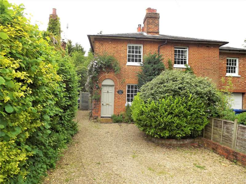 2 Bedrooms Semi Detached House for sale in Fir Tree Cottages, Burchetts Green Road, Burchetts Green, Maidenhead, SL6
