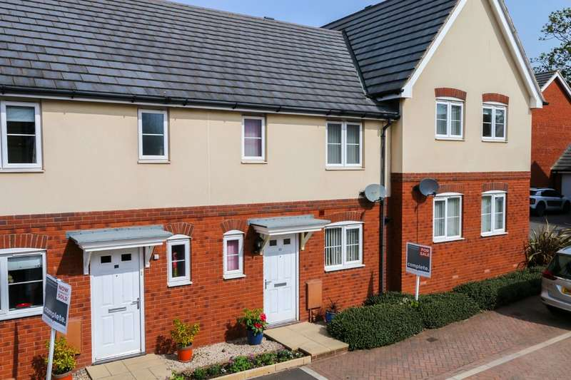 3 Bedrooms Terraced House for sale in Elizabethan Way, Teignmouth