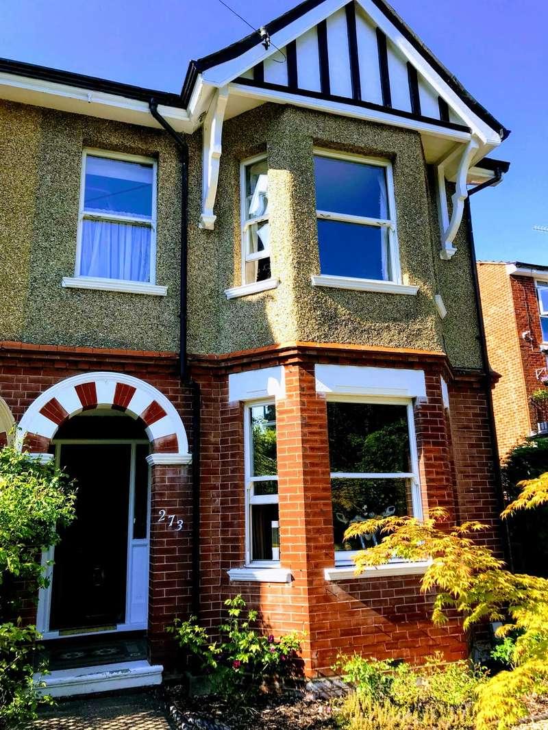 5 Bedrooms Semi Detached House for sale in Lynchford Road, Farnborough, Hampshire GU14 6HY