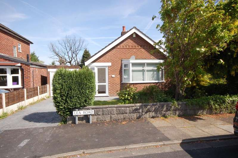 2 Bedrooms Detached Bungalow for sale in Lea Road, Heald Green, Cheadle, Cheshire SK8