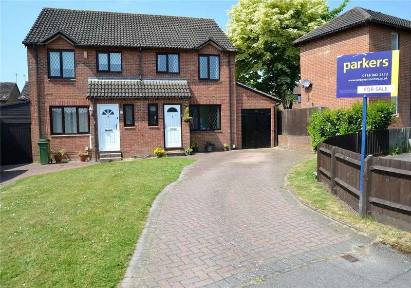 3 Bedrooms Semi Detached House for sale in Willow Tree Glade, Calcot, Reading, Berkshire, RG31
