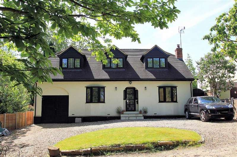 4 Bedrooms Detached House for sale in Chestnut Walk, Oaklands, Welwyn AL6 0SB