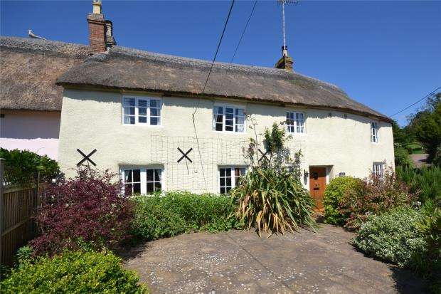 3 Bedrooms End Of Terrace House for sale in Hayes Lane, East Budleigh, Budleigh Salterton, Devon