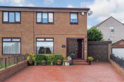 3 Bedrooms Semi Detached House for sale in Lyoncross Crescent, Barrhead