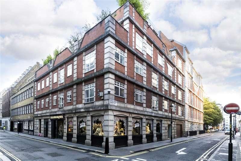 2 Bedrooms Flat for sale in Upper John Street, Soho, W1F