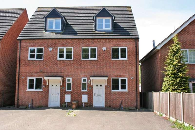 4 Bedrooms Town House for sale in Wetmore Road, Burton-on-Trent