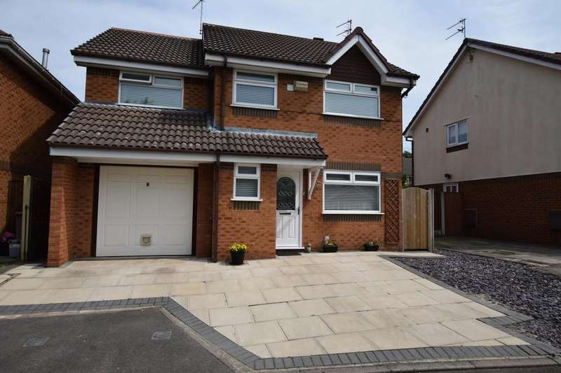 4 Bedrooms Detached House for sale in Whitebeam Gardens, Rainhill , St. Helens