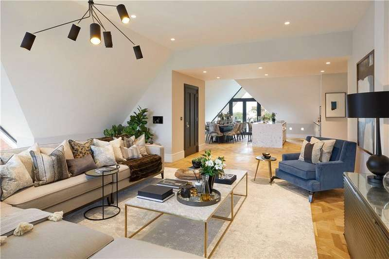 5 Bedrooms Penthouse Flat for sale in Otto Schiff Mansions, 12 Nutley Terrace, London, NW3