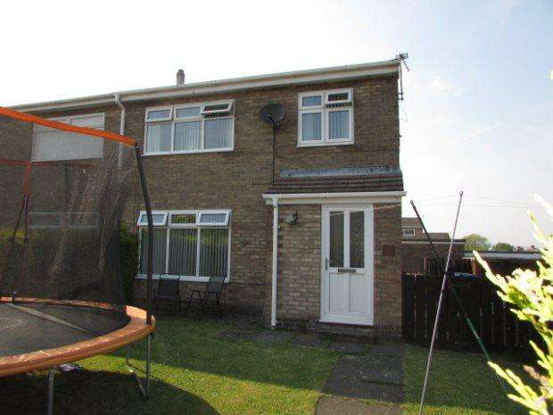 3 Bedrooms Semi Detached House for sale in HIGH CROFT, SPENNYMOOR, SPENNYMOOR DISTRICT